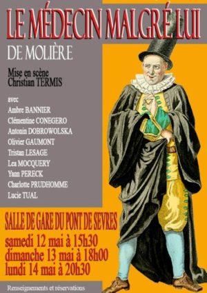 Le médecin malgré lui de Molière (mise en scène Christian Termis)