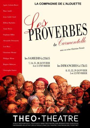 Les proverbes de Carmontelle (mise en scène de Christian Termis)