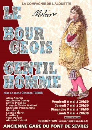 Le Bourgeois Gentilhomme (mise en scène de Christian Termis)