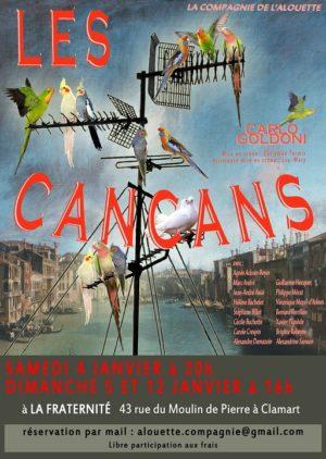 Les Cancans (mise en scène Christian Termis)
