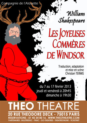Les Joyeuses Commères de Windsor de William Shakespeare (mise en scène Christian Termis)