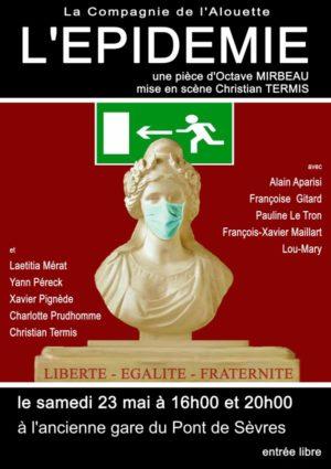 L'épidémie d'Octave Mirbeau (mise en scène Christian Termis)